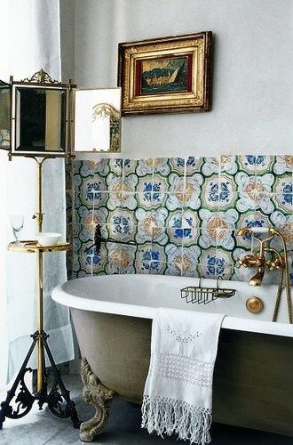 Фотография: Ванная в стиле , Стиль жизни, Советы, Прованс – фото на INMYROOM