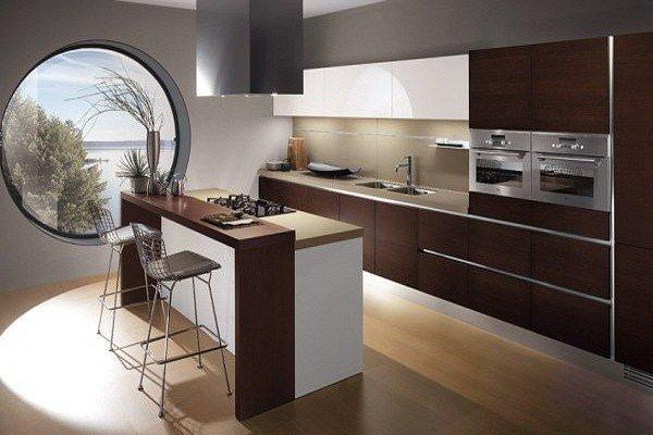 Фотография: Кухня и столовая в стиле Современный, Эко, Малогабаритная квартира, Квартира, Дома и квартиры – фото на INMYROOM