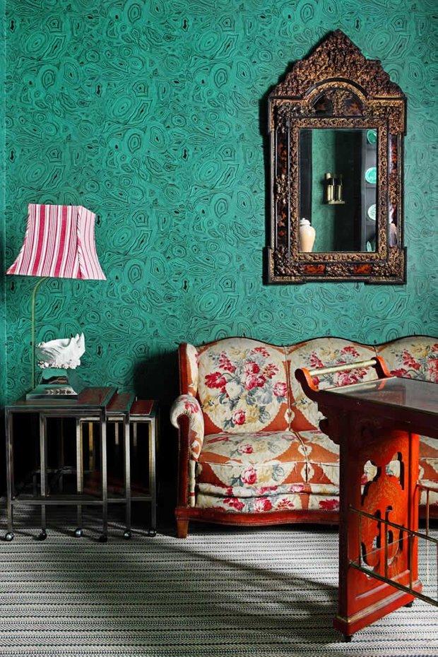 Фотография: Мебель и свет в стиле Восточный, Эклектика, Декор интерьера, Дизайн интерьера, Цвет в интерьере – фото на INMYROOM