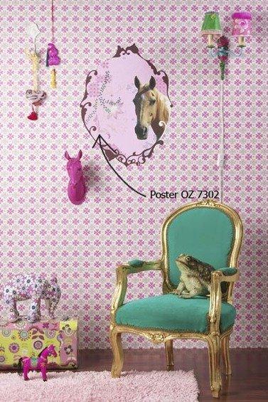 Фотография:  в стиле , Детская, Декор интерьера, Декор дома, Обои – фото на InMyRoom.ru