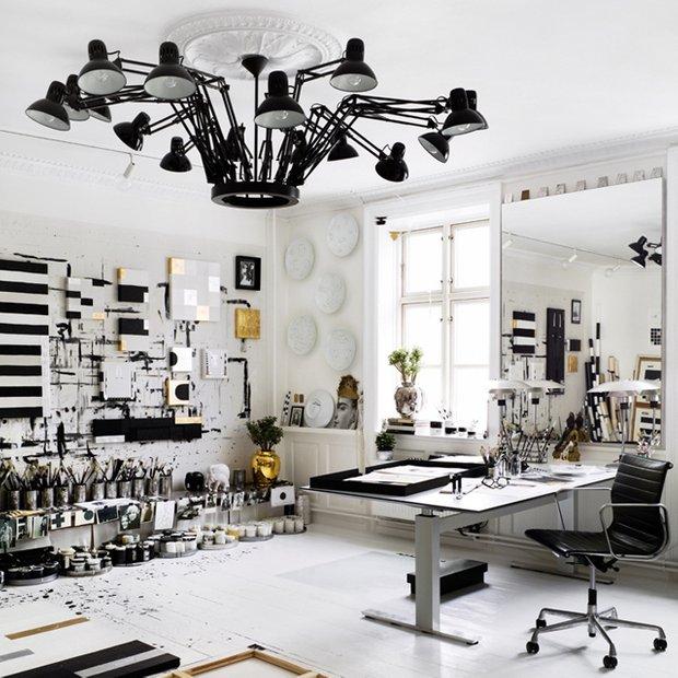 Фотография: Офис в стиле Скандинавский, Декор интерьера, Moooi, Мебель и свет, Светильник – фото на InMyRoom.ru