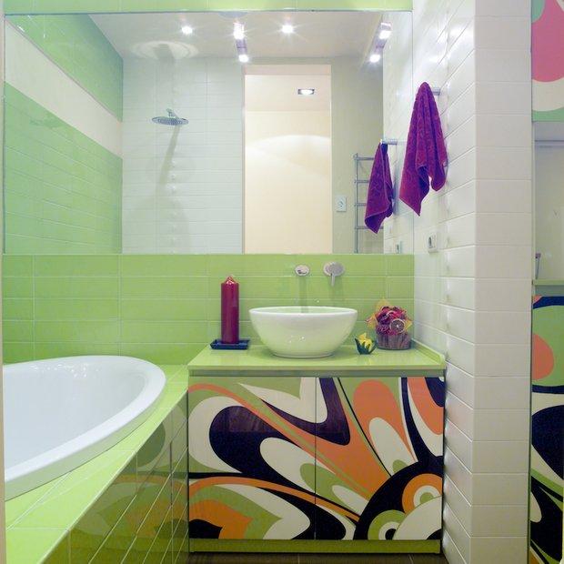 Фотография: Ванная в стиле Современный, Декор интерьера, Мебель и свет, Марат Ка – фото на INMYROOM