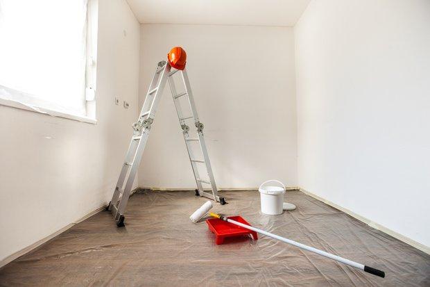 Фотография:  в стиле , Советы, Ремонт на практике, маркерная краска, как правильно покрасить стены, использование краски в интерьере, окрашивание стен, особенности окрашивания стен – фото на INMYROOM