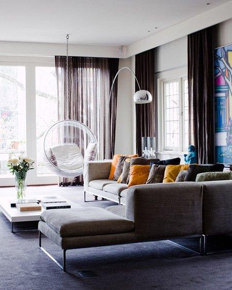 Фотография: Гостиная в стиле Современный, Минимализм, Декор интерьера, Дом, Австралия, Дома и квартиры – фото на INMYROOM