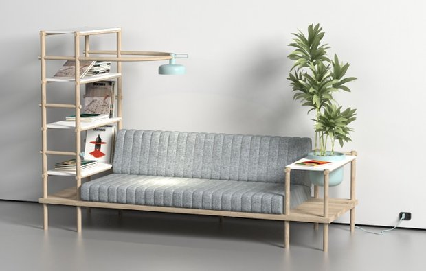 Фотография: Мебель и свет в стиле Лофт, Малогабаритная квартира, Квартира, Дома и квартиры, Советы, Мебель-трансформер – фото на INMYROOM