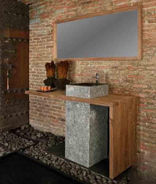 Фотография: Ванная в стиле Прованс и Кантри, Лофт, Современный, Интерьер комнат, Teak House, Эко – фото на INMYROOM