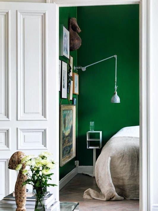 Фотография: Спальня в стиле Эклектика, Скандинавский, Интерьер комнат – фото на INMYROOM