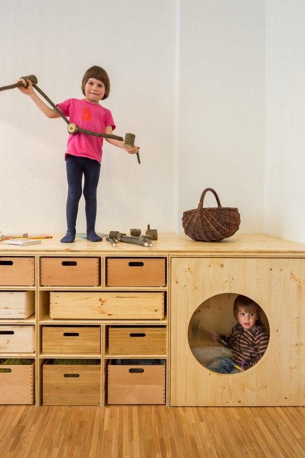 Фотография: Прочее в стиле , Детская, Современный, Интерьер комнат – фото на InMyRoom.ru