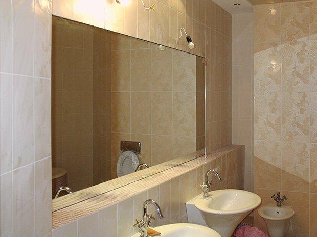 Фотография: Ванная в стиле Эклектика, Малогабаритная квартира, Интерьер комнат, Советы – фото на INMYROOM