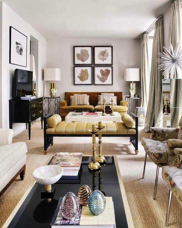 Фотография: Гостиная в стиле Восточный, Эклектика, Малогабаритная квартира, Квартира, Дома и квартиры – фото на INMYROOM