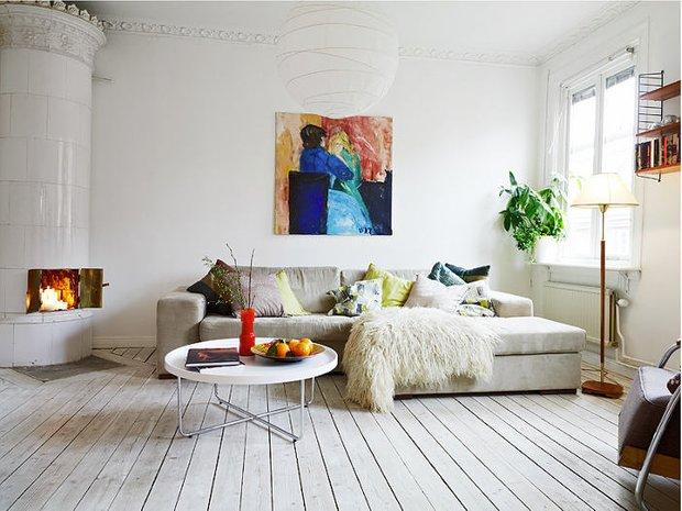 Фотография: Гостиная в стиле Скандинавский, Современный, Стиль жизни, Советы – фото на INMYROOM
