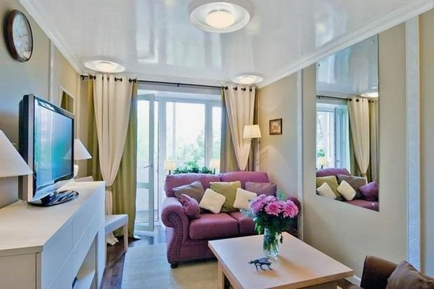 Фотография: Гостиная в стиле Классический, Декор интерьера, Малогабаритная квартира, Квартира, Студия, Планировки, Мебель и свет – фото на INMYROOM