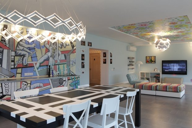 Фотография: Кухня и столовая в стиле Современный, Эклектика, Дом, Дома и квартиры, Проект недели – фото на INMYROOM