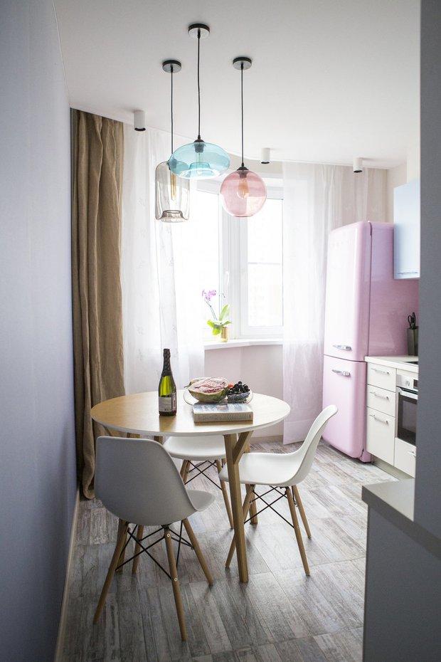Фотография:  в стиле , Кухня и столовая, Советы, маленькая кухня, Ашан, Auchan – фото на INMYROOM