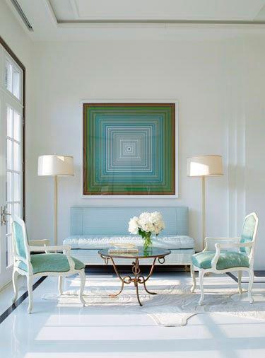 Фотография: Мебель и свет в стиле Классический, Современный, Декор интерьера, Декор дома, Цвет в интерьере, Советы, Картина, Неоклассика – фото на INMYROOM