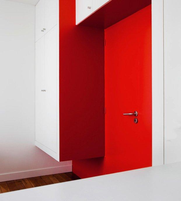 Фотография:  в стиле Современный, Малогабаритная квартира, Квартира, Дома и квартиры, Париж – фото на INMYROOM