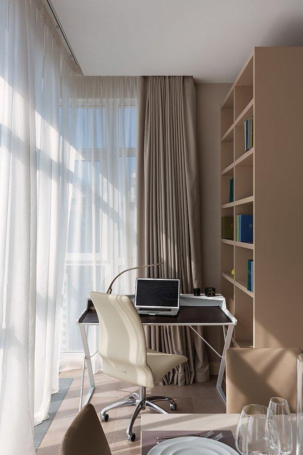 Фотография: Кабинет в стиле Современный, Классический, Квартира, Проект недели – фото на INMYROOM