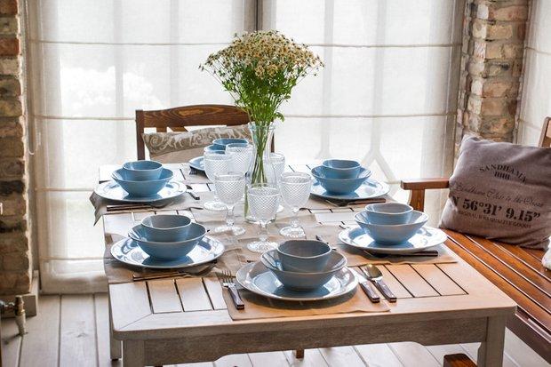 Фотография: Кухня и столовая в стиле Прованс и Кантри, Современный, Декор интерьера, Дачный ответ, Веранда – фото на INMYROOM