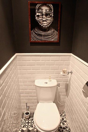 Фотография: Ванная в стиле Современный, Малогабаритная квартира, Квартира, Дома и квартиры, Переделка, Париж – фото на INMYROOM