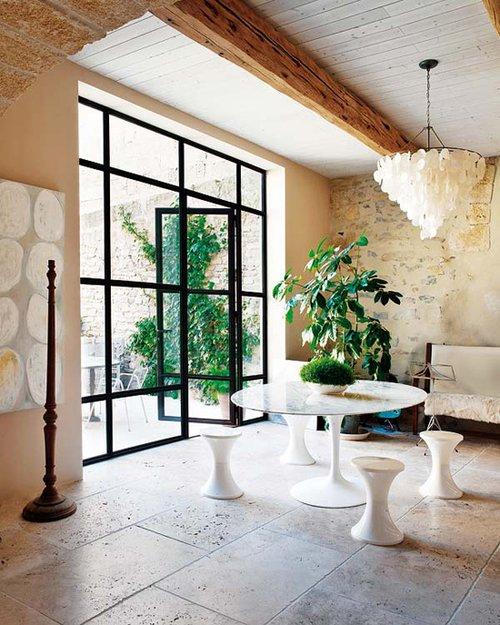 Фотография: Гостиная в стиле Эклектика, Декор интерьера, Дом, Франция, Дома и квартиры – фото на INMYROOM