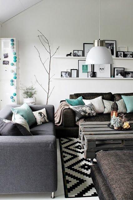 Фотография: Гостиная в стиле Скандинавский, Декор интерьера, Хранение, Декор дома, Советы – фото на INMYROOM