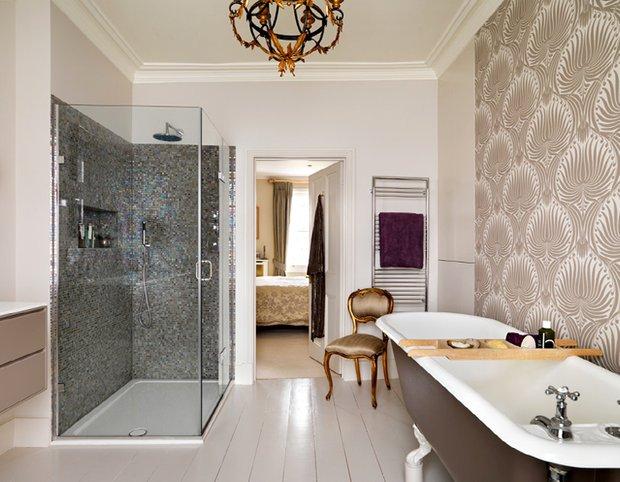 Фотография: Ванная в стиле Эклектика, Интерьер комнат, Проект недели – фото на INMYROOM