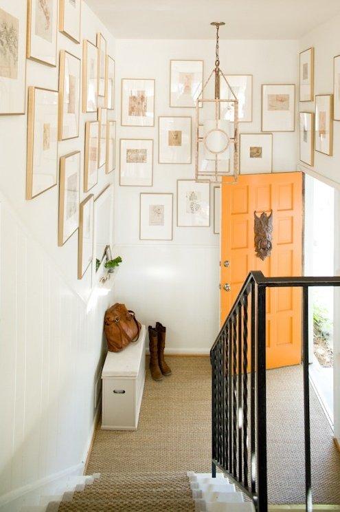 Фотография: Декор в стиле Скандинавский, Современный, Декор интерьера, Дизайн интерьера, Цвет в интерьере, Оранжевый – фото на InMyRoom.ru