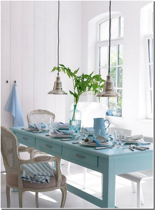 Фотография: Кухня и столовая в стиле Прованс и Кантри, Декор интерьера, Дизайн интерьера, Цвет в интерьере – фото на INMYROOM
