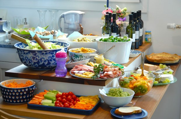 Фотография: Кухня и столовая в стиле Современный, Текстиль, Стиль жизни, Советы – фото на INMYROOM