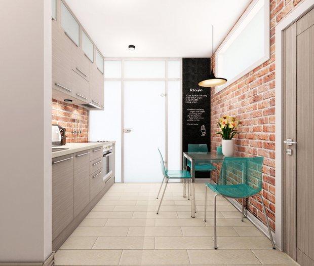 Фотография: Кухня и столовая в стиле Лофт, Советы, Гид, напольное покрытие – фото на INMYROOM