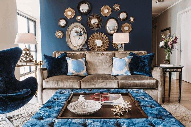 Фотография: Гостиная в стиле Классический, Декор интерьера, Мебель и свет, Советы, Экспострой – фото на INMYROOM