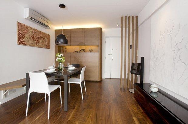 Фотография: Кухня и столовая в стиле Скандинавский, Прихожая, Интерьер комнат – фото на INMYROOM