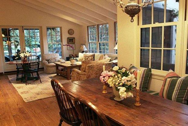 Фотография: Кухня и столовая в стиле Прованс и Кантри, Современный, Дома и квартиры, Интерьеры звезд – фото на INMYROOM