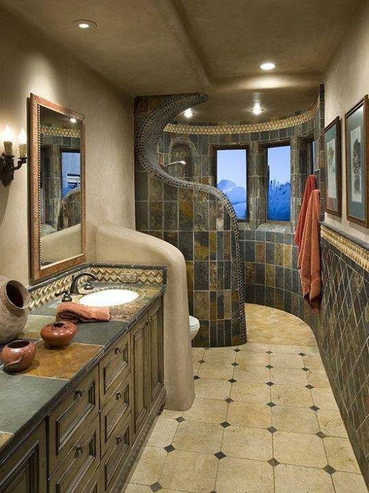 Фотография: Ванная в стиле , Декор интерьера, Мебель и свет, Перегородки – фото на INMYROOM