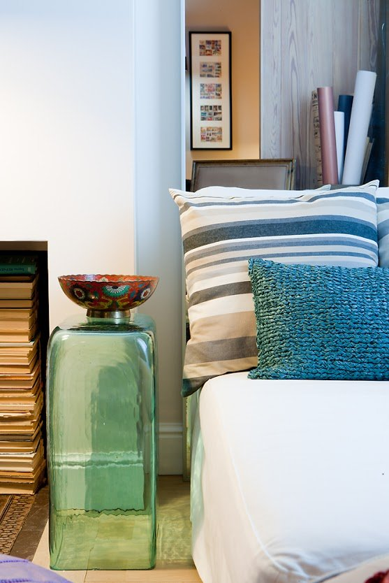 Фотография: Декор в стиле Современный, Малогабаритная квартира, Квартира, Цвет в интерьере, Дома и квартиры, Переделка – фото на InMyRoom.ru