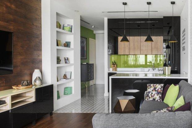 Фотография: Кухня и столовая в стиле Современный, Knauf, Ремонт на практике, Вика Золина, Кнауф – фото на INMYROOM
