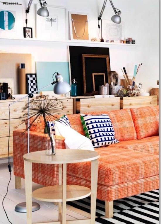Фотография: Гостиная в стиле Скандинавский, Современный, Декор интерьера, Декор дома, Цвет в интерьере – фото на INMYROOM