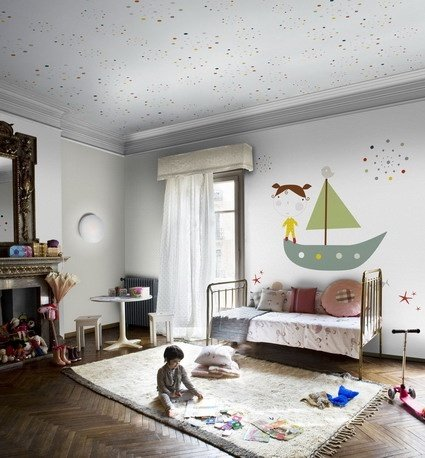 Фотография:  в стиле , Детская, Декор интерьера, Интерьер комнат, Мебель и свет – фото на InMyRoom.ru