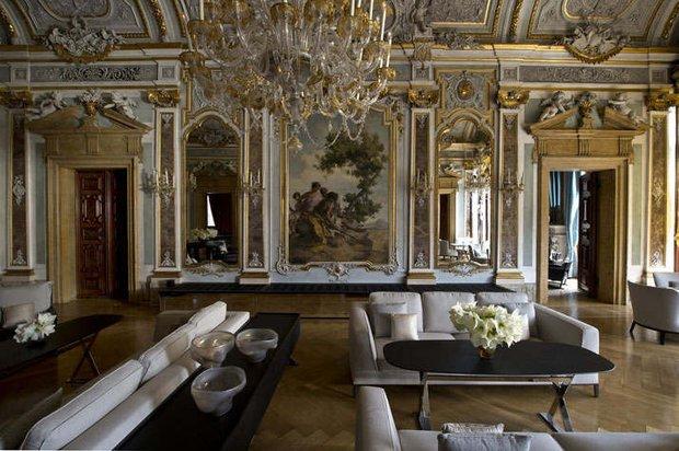 Фотография: Гостиная в стиле Классический, Дом, Италия, Дома и квартиры, Отель – фото на INMYROOM