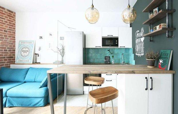 Фотография: Кухня и столовая в стиле Скандинавский, как сэкономить, сэкономить на покупке квартиры, как сэкономить на покупке квартиры, сэкономить на ремонте, как экономить воду, экономия, #каксэкономить, как сэкономить на ремонте, как сэкономить электричество – фото на INMYROOM
