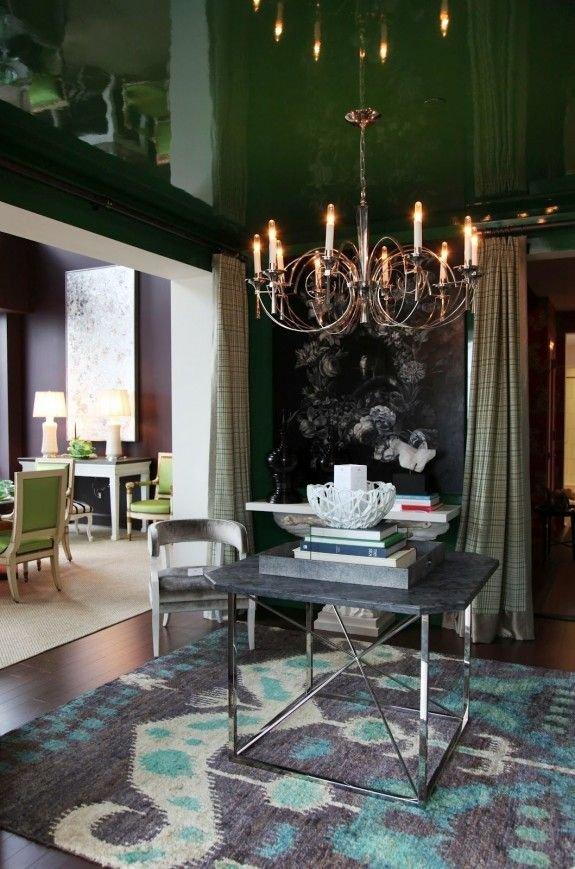 Фотография: Кухня и столовая в стиле Эклектика, Декор интерьера, Дизайн интерьера, Цвет в интерьере – фото на INMYROOM
