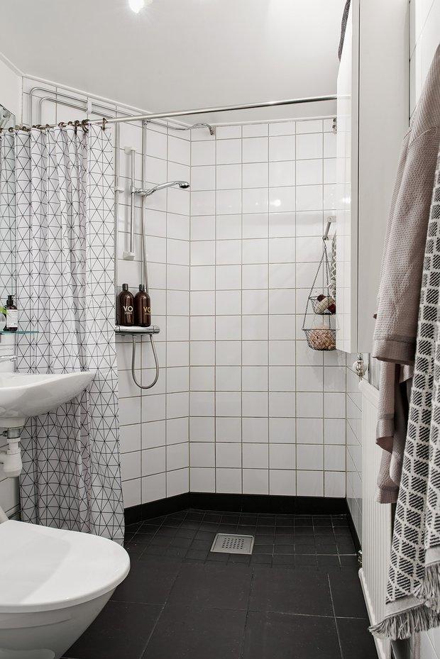 Фотография: Ванная в стиле Скандинавский, Декор интерьера, Квартира, Швеция, 2 комнаты, 40-60 метров, Alvhem – фото на INMYROOM