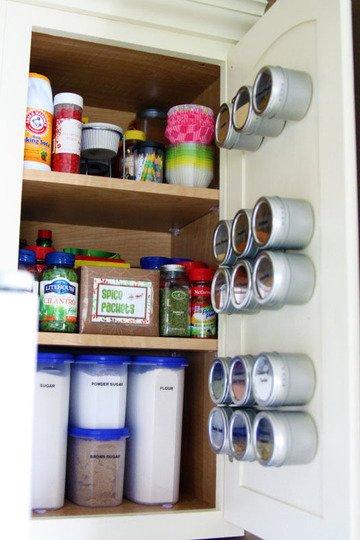 Фотография: Кухня и столовая в стиле Современный, Хранение, Стиль жизни, Советы, Системы хранения – фото на InMyRoom.ru