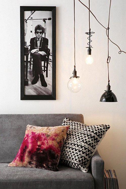 Фотография: Гостиная в стиле Лофт, Декор интерьера, Квартира, Декор, Советы, Виктория Киорсак, Как декорировать съемную квартиру, как обустроить съемную квартиру, как улучшить интерьер съемной квартиры, интерьер съемной квартиры, декор съемной квартиры – фото на INMYROOM