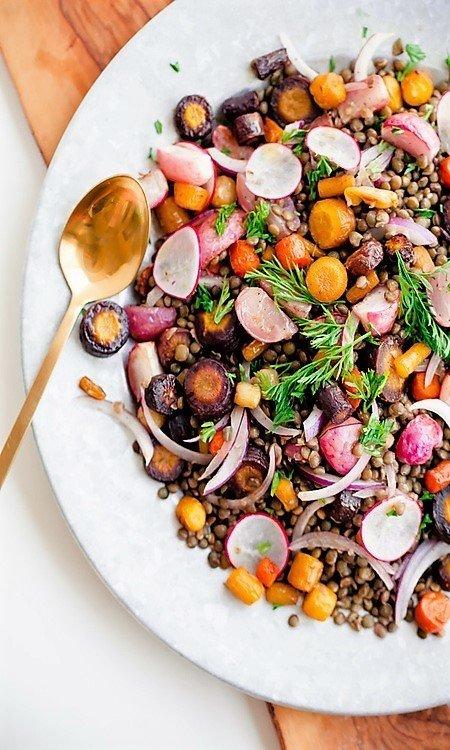 Фотография:  в стиле , Обед, Салат, Здоровое питание, Кулинарные рецепты, Варить, 30 минут, Европейская кухня, Просто, Морковь – фото на INMYROOM