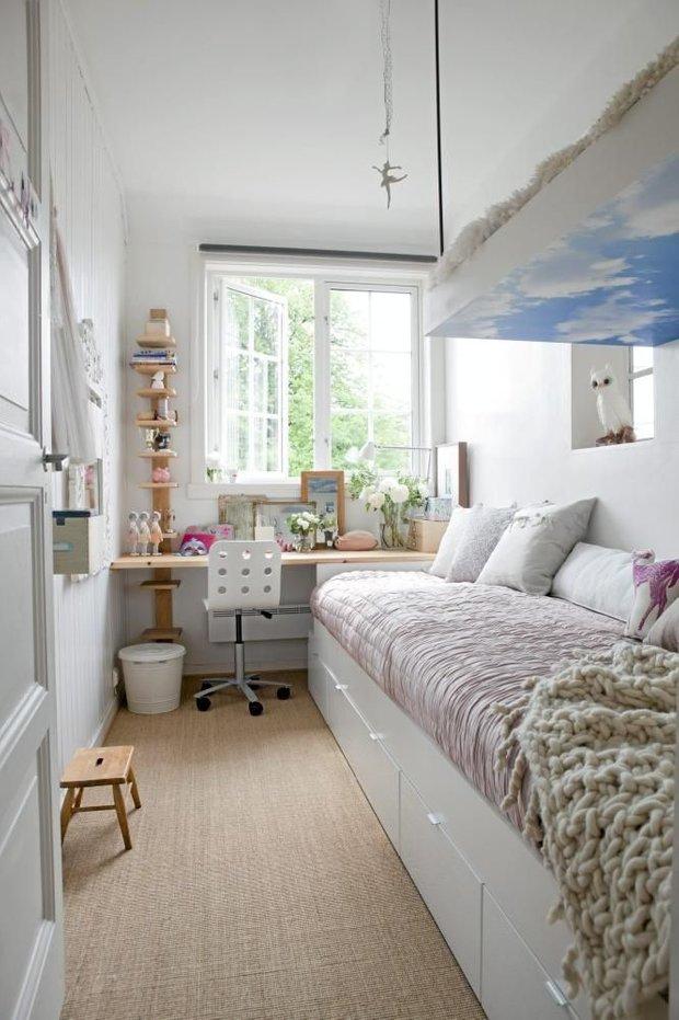 Фотография: Детская в стиле Скандинавский, Малогабаритная квартира, Квартира, Советы – фото на INMYROOM