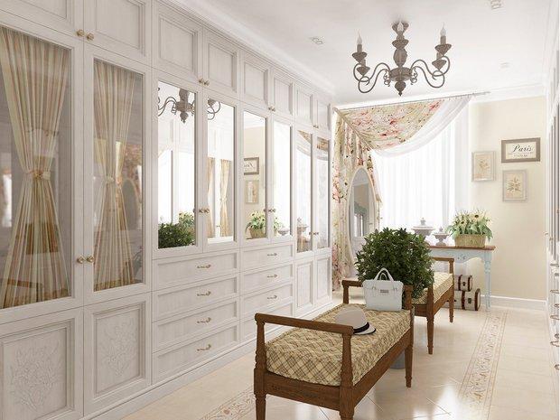 Фотография: Гардеробная в стиле Прованс и Кантри, Марокко + Прованс, интерьерный стиль прованс, прованс в интерьере – фото на INMYROOM
