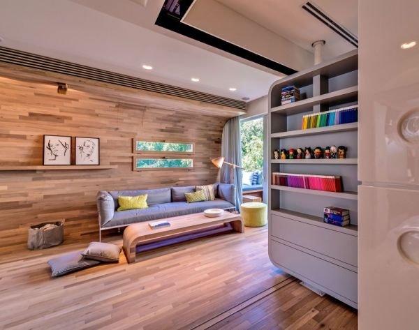 Фотография: Гостиная в стиле Современный, Квартира, Дом, Ремонт на практике – фото на INMYROOM
