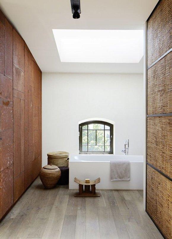 Фотография: Ванная в стиле Лофт, Современный, Хай-тек, Декор интерьера, Декор, CorTen, сталь-кортен, кортен – фото на INMYROOM