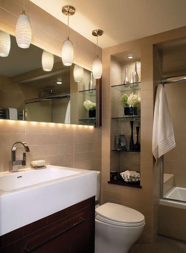 Фотография: Ванная в стиле Скандинавский, Квартира, Дом, Планировки, Ремонт на практике – фото на INMYROOM